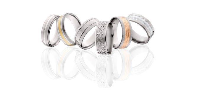 men's rings in all metals